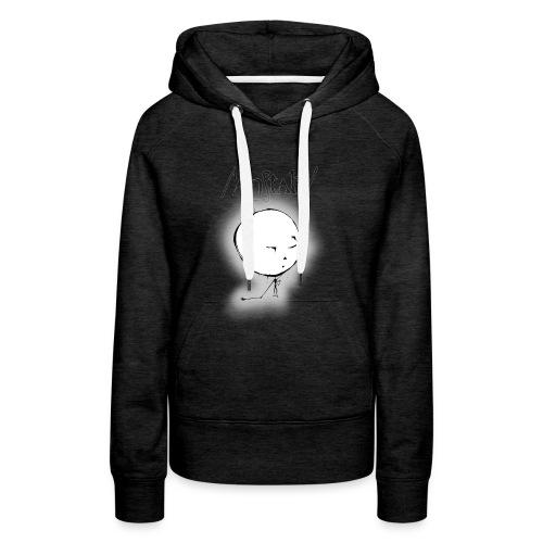 kreisling mit logo (schwarz) - Frauen Premium Hoodie