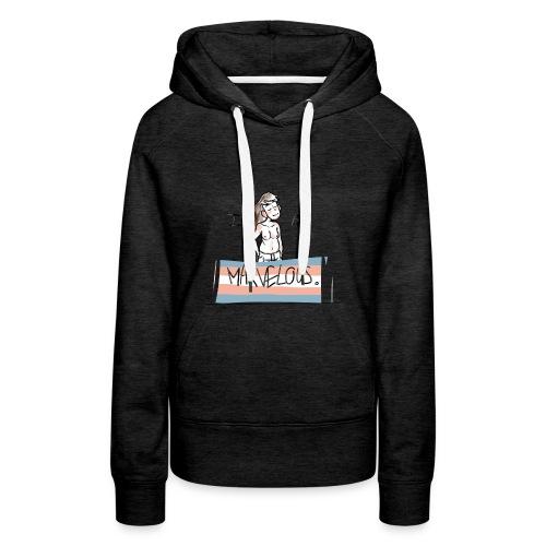 I am Marvelous (MtF) - Sweat-shirt à capuche Premium pour femmes