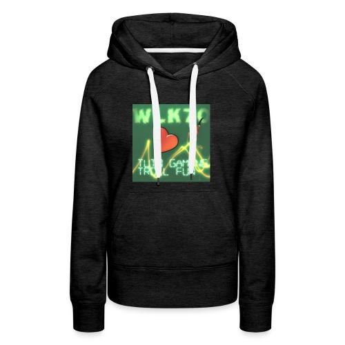 WLK70 T-shirt Spetial - Sweat-shirt à capuche Premium pour femmes