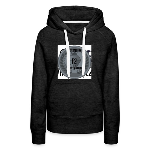 F2FOOTBALLERZ Z youtube kanaal T shirt - Vrouwen Premium hoodie