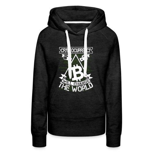 cryptocurrency - Vrouwen Premium hoodie