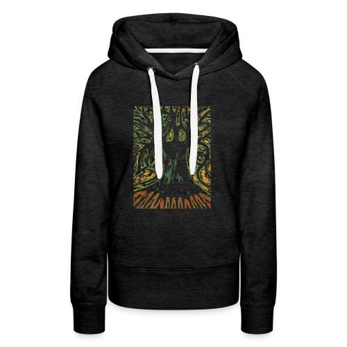 Primitive Tree - Bluza damska Premium z kapturem