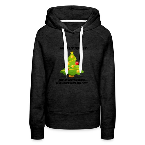 geen_bal_aan - Vrouwen Premium hoodie