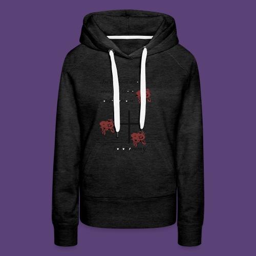 confersations_roos - Vrouwen Premium hoodie