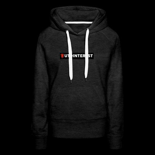 Utd Interest Logo - Women's Premium Hoodie