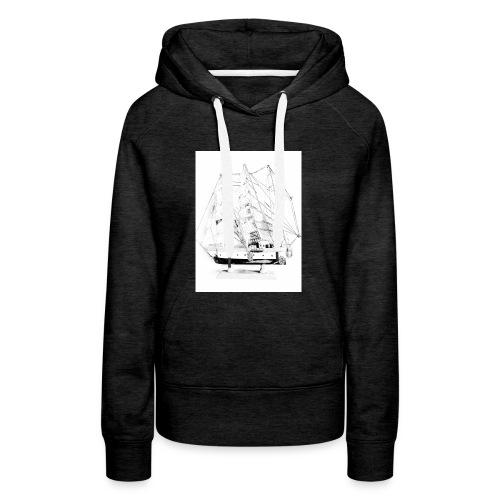 I am sailing - Frauen Premium Hoodie