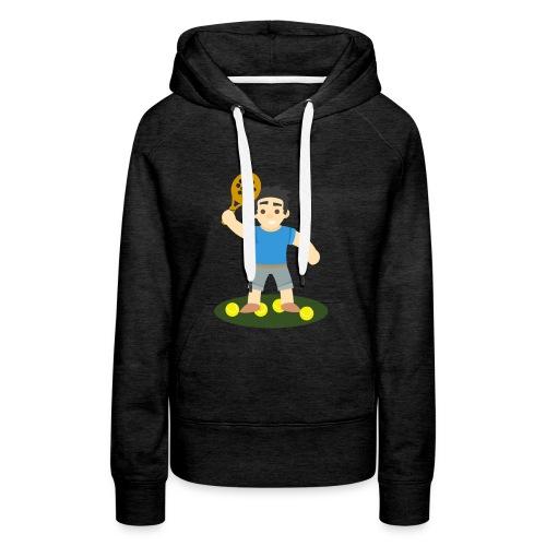 Camiseta Padel Hombre - Sudadera con capucha premium para mujer
