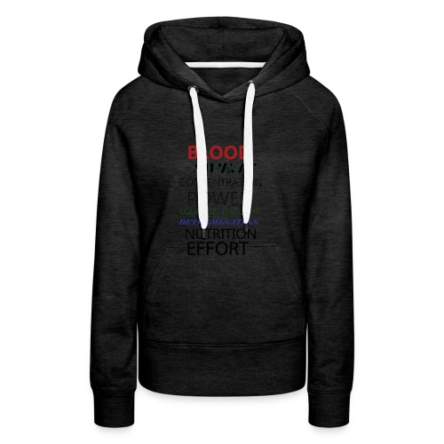 Gym typeography - Women's Premium Hoodie