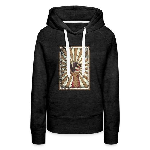 Coffee revolution! - Vrouwen Premium hoodie