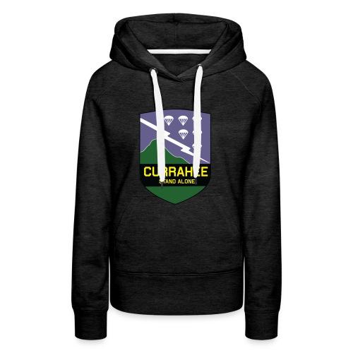 currahee - Sweat-shirt à capuche Premium pour femmes