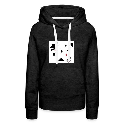 sreadshirt-catalogo-Uomo_tangram_2 - Sweat-shirt à capuche Premium pour femmes