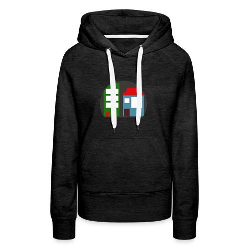 Minetopia T-Shirt - Vrouwen Premium hoodie