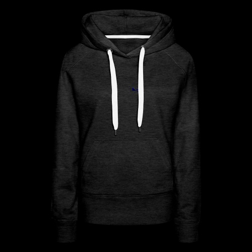 logo azr - Sweat-shirt à capuche Premium pour femmes