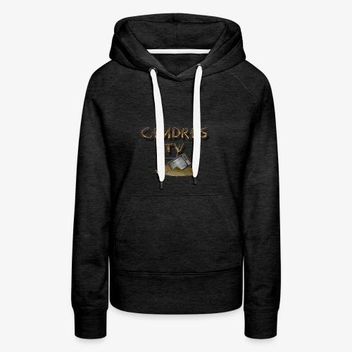 cendretv - Sweat-shirt à capuche Premium pour femmes
