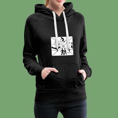 Things to do in Tyrol! - Frauen Premium Hoodie