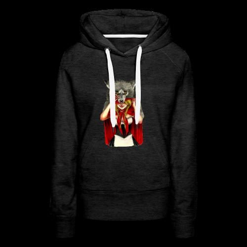 Little Red Riding Hood - Sudadera con capucha premium para mujer