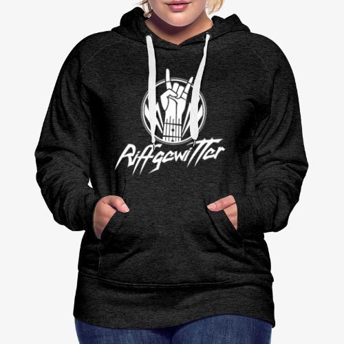 Riffgewitter - Hard Rock und Heavy Metal - Frauen Premium Hoodie