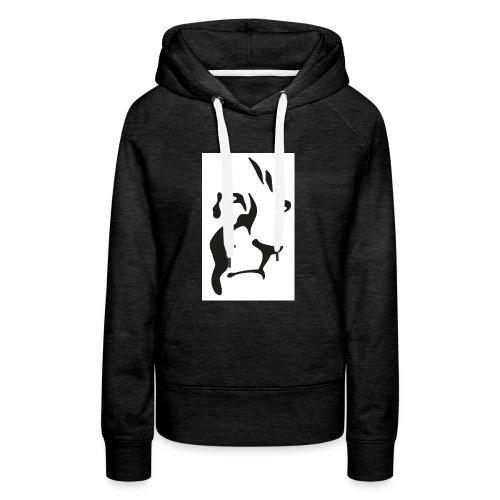 Lion-GINGER-page-001 - Sweat-shirt à capuche Premium pour femmes