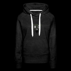 M.C.Tees Logo on our new collection - Women's Premium Hoodie