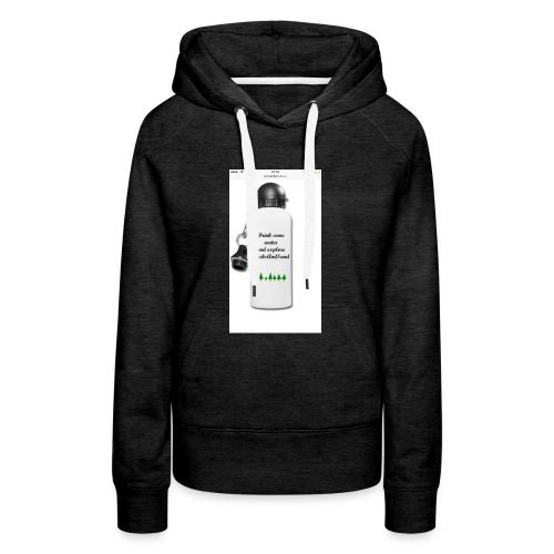 RocksAndSand adventure bottle - Women's Premium Hoodie