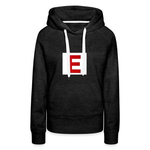Itz Ethan Red Logo T-Shirt - Women's Premium Hoodie