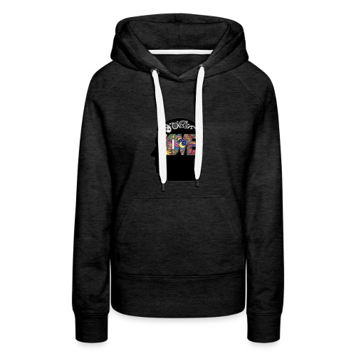 Love in my head - Vrouwen Premium hoodie