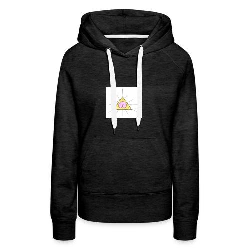 sainte_fesse - Sweat-shirt à capuche Premium pour femmes