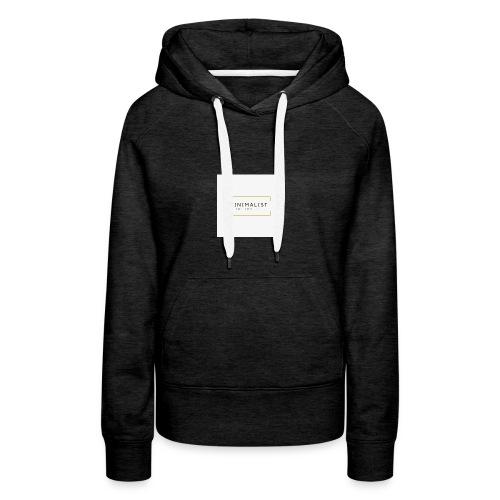 Minimalist - Sweat-shirt à capuche Premium pour femmes