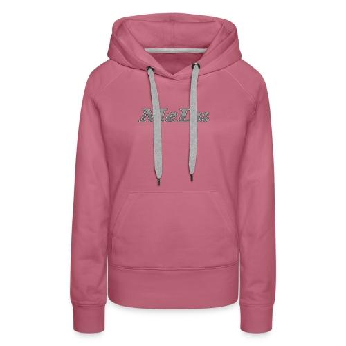 MeLu_Text - Vrouwen Premium hoodie