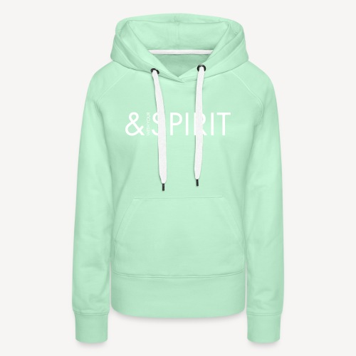 AND WITH YOUR SPIRIT - Women's Premium Hoodie