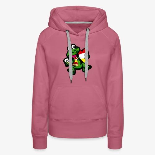 Oeteldonk Kikker - Vrouwen Premium hoodie