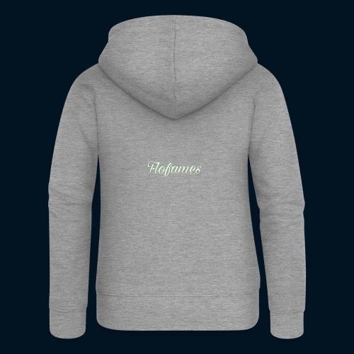camicia di flofames - Felpa con zip premium da donna
