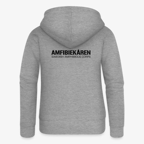 Amfibiekåren -Swedish Amphibious Corps - Premium luvjacka dam