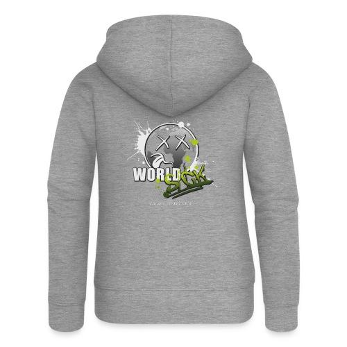 world sick - Frauen Premium Kapuzenjacke