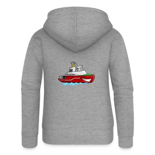 Boaty McBoatface - Women's Premium Hooded Jacket