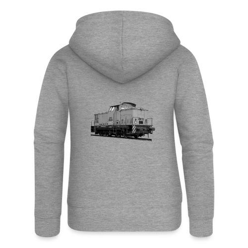 V 60 Diesel Lokomotive Rangierlok Reichsbahn DDR - Frauen Premium Kapuzenjacke