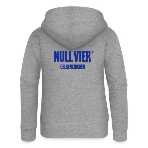NULLVIER BLUE - Frauen Premium Kapuzenjacke
