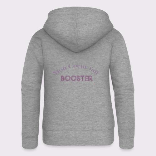 moncoeurfaitbooster - Women's Premium Hooded Jacket