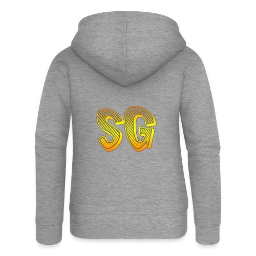 Cover S5 - Felpa con zip premium da donna