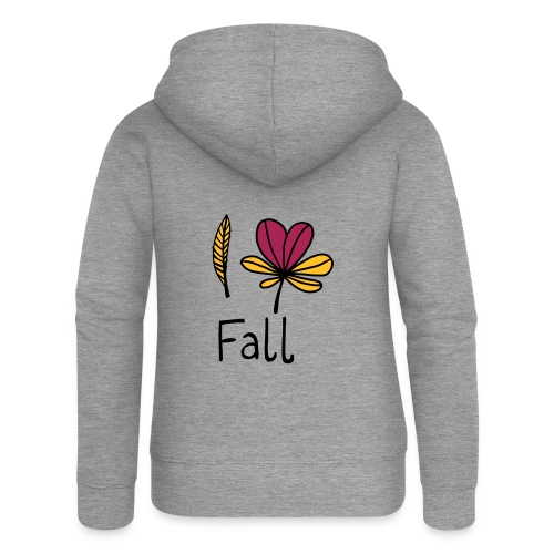 Fall in love - Frauen Premium Kapuzenjacke