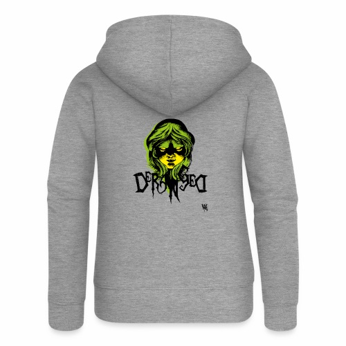 DerangeD - Tattoo Metal Horror Vampire - Dame Premium hættejakke