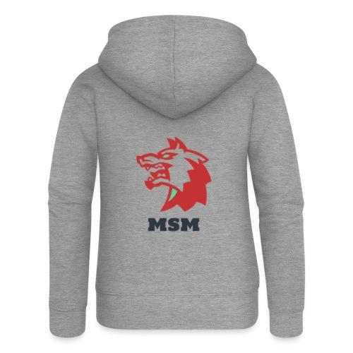 MSM WOLF - Dame Premium hættejakke