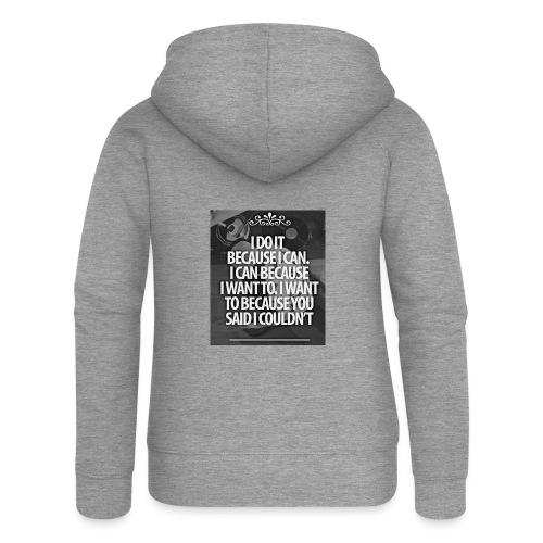 I_DO_IT - Vrouwenjack met capuchon Premium
