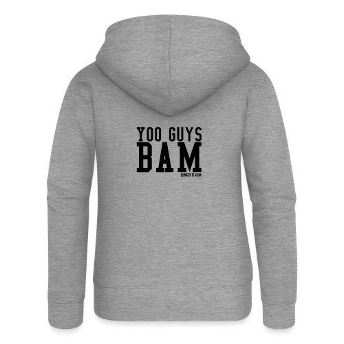 BAM! - Frauen Premium Kapuzenjacke