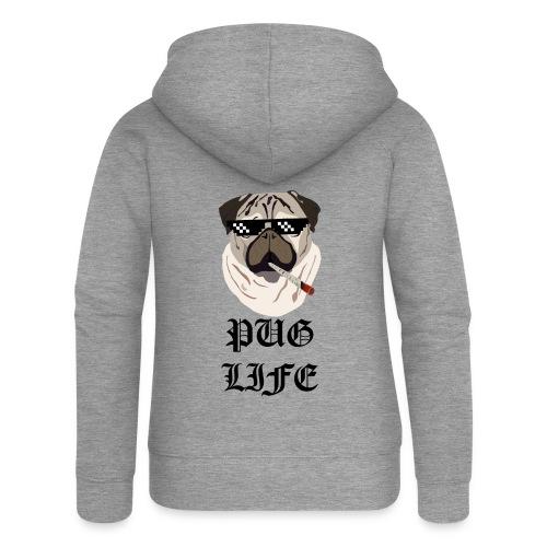 Pug Life - Dame Premium hættejakke