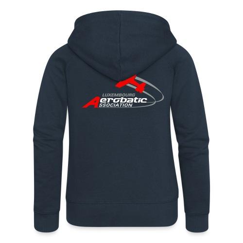 logo aerobatic fs - Veste à capuche Premium Femme