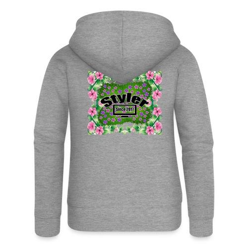Styler Bloemen Design - Vrouwenjack met capuchon Premium