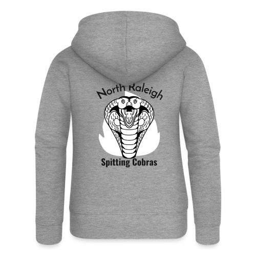 North Raleigh Spitting Cobras - Veste à capuche Premium Femme