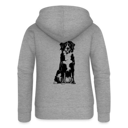Berner Sennenhund Hunde Design Geschenkidee - Frauen Premium Kapuzenjacke