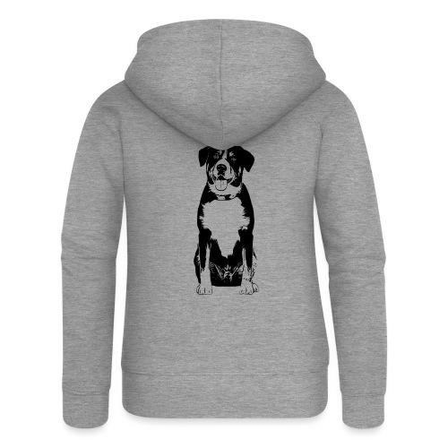 Entlebucher Sennenhund Hunde Design Geschenkidee - Frauen Premium Kapuzenjacke